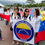 Venezuelan Doctors Demand That Humanitarian Aid Be Allowed Into Their Country