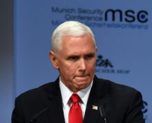 Vice President Pence Receives Awkward Silence in Munich After Offering 'Greetings' From President Trump