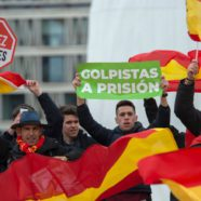 Spanish Conservatives Call for the Socialist Prime Minister to Resign in Madrid Rally