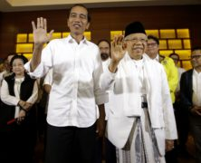 Indonesia's Jokowi Is Set for a Second Term as President, Early Counts Show