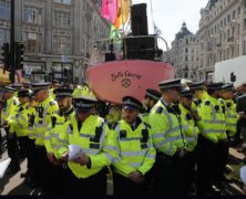 Climate Protesters Again March in London as Arrests Hit 710
