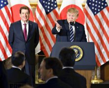 President Trump Opened His State Visit to Japan by Needling the Japanese on Trade