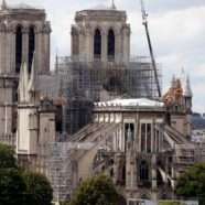 Notre Dame Worshipers Must Wear Hard Hats at First Mass Since Devastating Fire