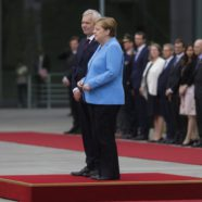 German Chancellor Angela Merkel Spotted Visibly Shaking at Third Recent Public Event