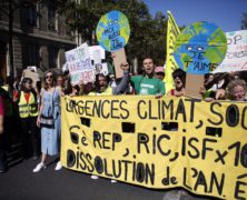 British and French Climate Activists Step Up Protests