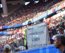 FIFA Says Women 'Have to Be Allowed' Into Iran's Soccer Stadiums