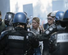 Paris Police Repeatedly Tear Gas Anti-Fuel Tax Protesters