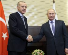 Russia's Putin Meets With Turkey's Erdogan as U.S. Struggles to Shift Troops From Syria to Iraq