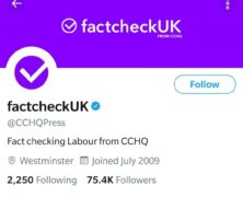 Boris Johnson's Conservatives Rebranded a Party Twitter Account as 'factcheckUK.' Twitter Wasn't Happy